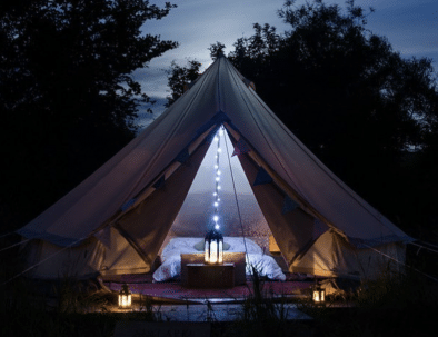Bell Tent Nigh
